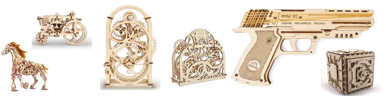 laser cutting wood mechanical model